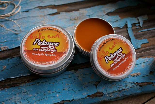Hello Sun tanning marmelade